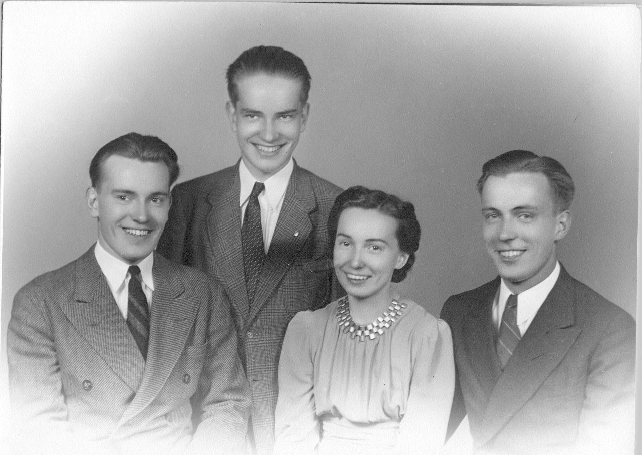Karl J. Jr, Cliff, Loraine and Perry Petersen