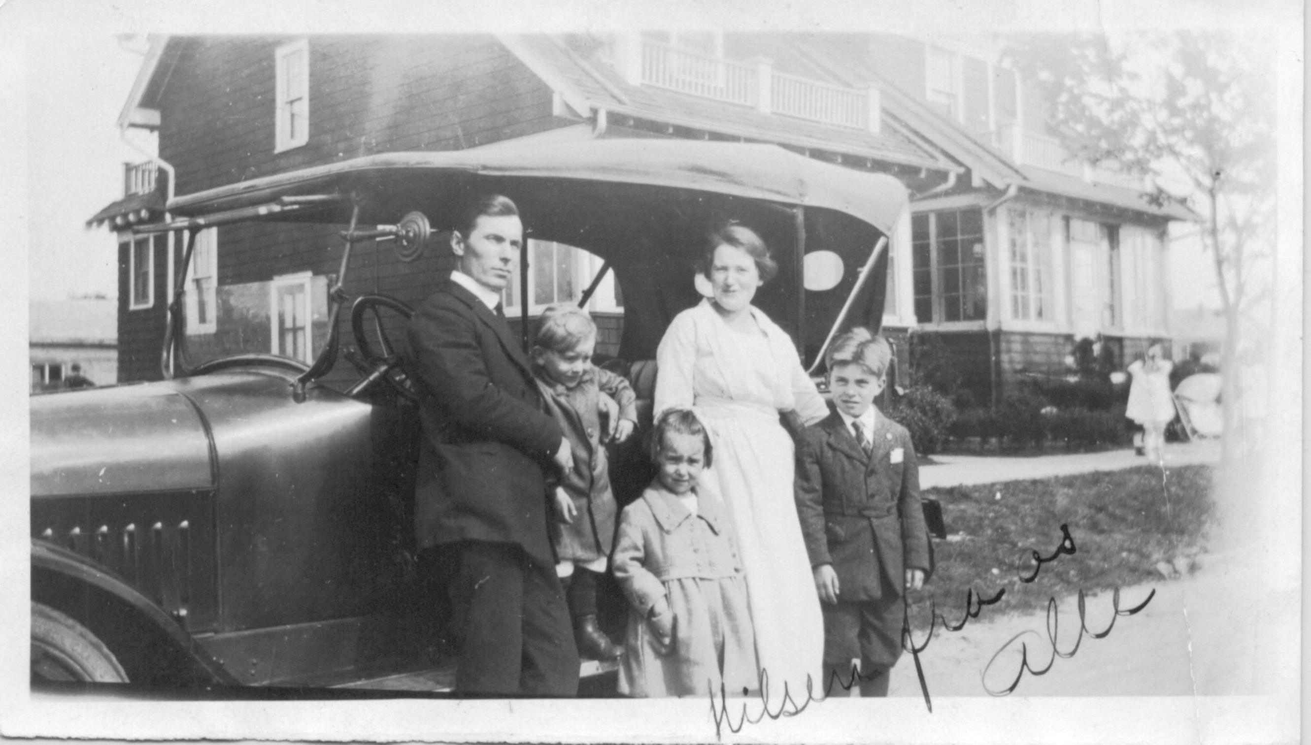 Karl J, Karl J. Jr., Loraine, Kristine and Perry Petersen